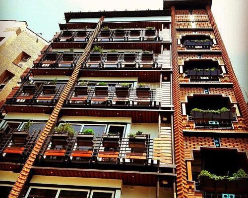 گروه ساختمانی اهورا - پروژه ونک