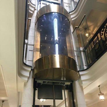 آسانسور پانوراما (شیشه ای)