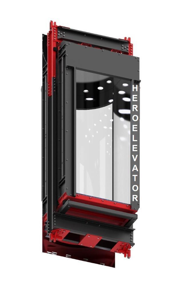 آسانسور شیشه ای - هیرو آسانسور