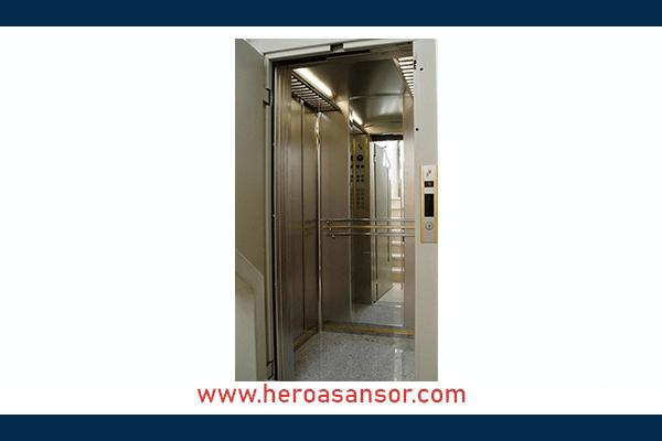 آسانسور کششی گیربکسی-هیروآسانسور